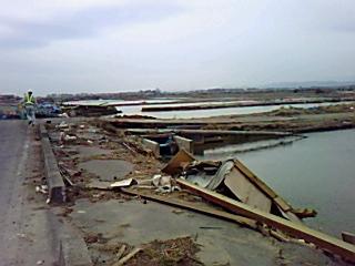 7日の余震で被害拡大