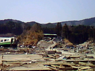 石巻、女川の被災地