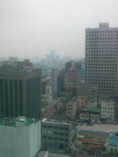 被災地から韓国へ