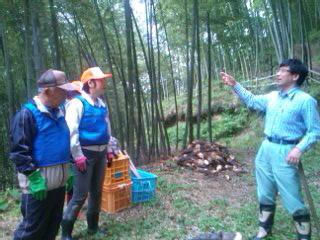 とても切ない…丸森でのタケノコ掘り