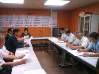 農業を持続し、コミュニティーを壊さない、支援策を仙台市に求めた若林区三本塚町内会