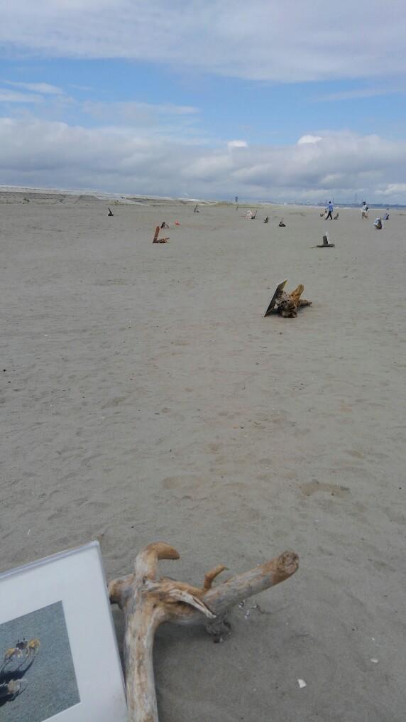お盆の入り日は荒浜で
